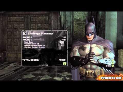 Batman: Arkham City - Combat Challenge 1 (Blind Justice) - 35110 Points + Freeflow Fighter 2.0 Guide