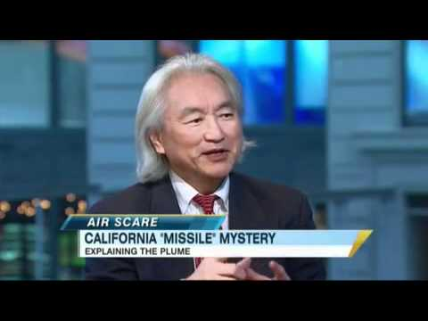 Professor Kaku Explains the Mysterious California Plume (Missile? Airplane?)