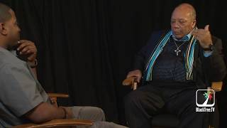 Quincy Jones Talks Music & Growth, Meeting Martin Luther King & Ray Charles