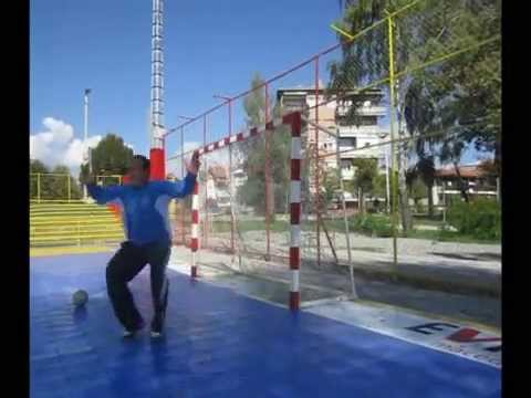Kutanoski Handball Goalkeeper Training - Movement Speed Reaction