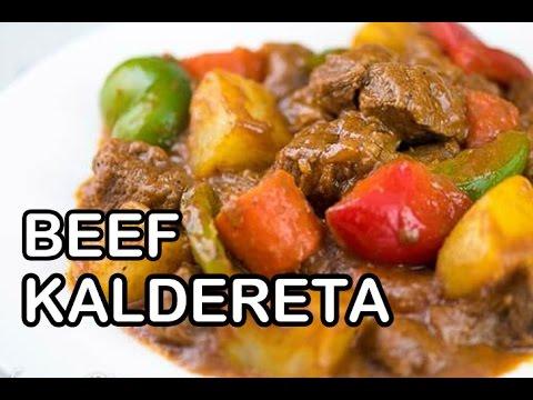 How to Cook Beef Kaldereta