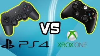 PS4 vs XBOX ONE - Controller -  Which is Better Playstation 4 vs Xbox One