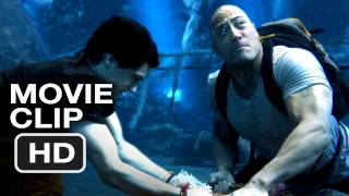 Journey 2: The Mysterious Island CLIP - A GIANT ELECTRIC EEL! - Dwayne Johnson Movie (2012) HD