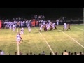 9-3-10 - Fort Morgan's TJ Schneider sacks Brush QB Eric Garcia