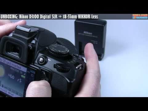 UNBOXING: Nikon D3100 DSLR [Part 1]