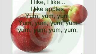 I like food Song, Yum Yum Yum, Food with colours