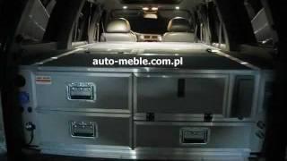 Nissan Patrol Krotka Zabudowa Z Rozkladanym Spaniem Youtube