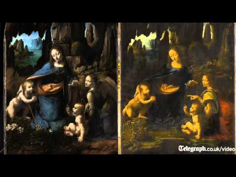 Mystery of Leonardo Da Vinci's two Virgins