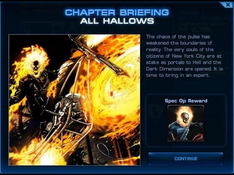 Marvel Avengers Alliance - Special Operation 4 - All Hallows