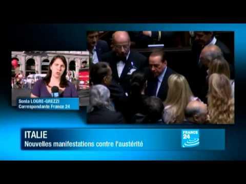Italie : Nouvelles manifestations contre l-austérité