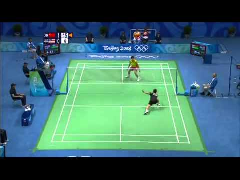 China vs Malaysia - Men's Badminton Final - Beijing 2008 Summer Olympic Games