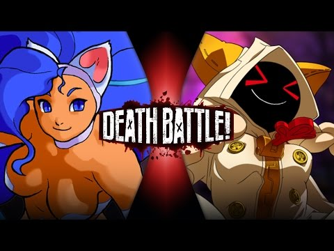 DEATH BATTLE! - Felicia (Darkstalkers) VS Taokaka (Blazblue)