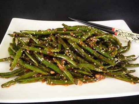 Szechuan Green Beans - Indo Chinese Recipe