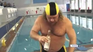 Oroszoknál ilyen egy úszóverseny
