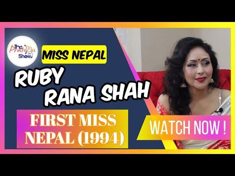 Ruby Rana Shah (First Miss Nepal)   The Pratima Show   Episode 41   10 July 2021