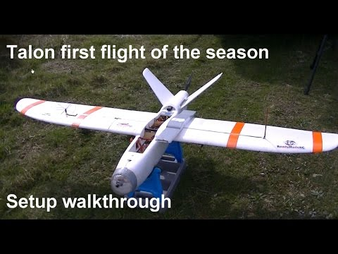 X-UAV Talon Setup Walkthrough - First flight of the season - UCgi7OsLV3cUCXFA9gNuPmeg