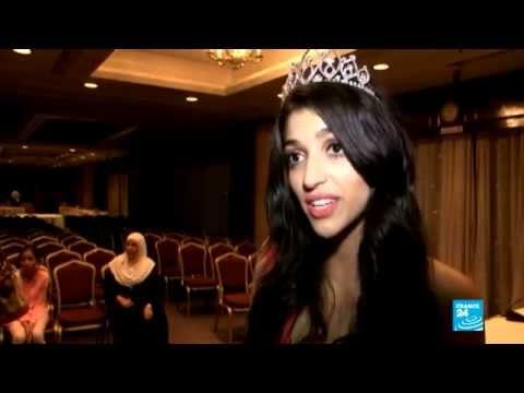 شاهد بالفيديو: صابرين شويب تتوج ملكة جمال الجزائر لعام 2014