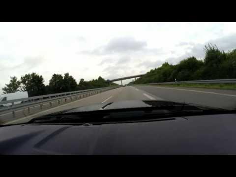 80 mph / 130 km/h on German Autobahn is like standing still ;)