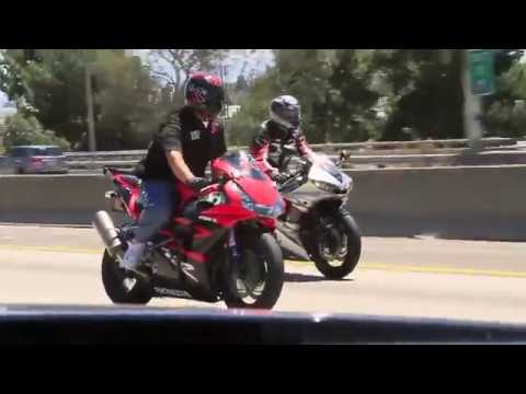 r1 cbr gsxr zx6r wheelie with redline bikerz ORIGINAL