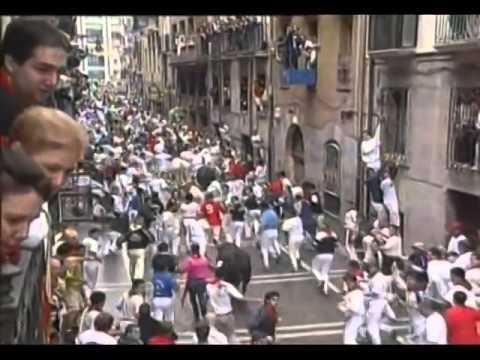 Encierro San Fermin Pamplona del día 10  2001