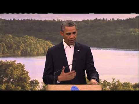 US, EU Leaders Announce Free Trade Talks  6/17/13