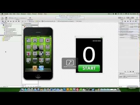 Xcode 4 iPhone SDK Tutorial - Stopwatch / NSTimer  HD