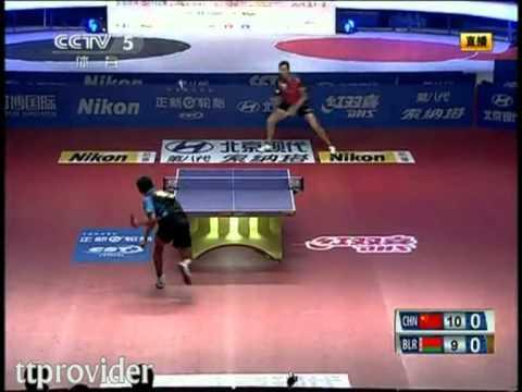 Asia vs. Europe 2011: Zhang Jike-Vladimir Samsonov