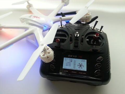 MJX X600. Sport flight and Drift test. - UCfgJN3b2jAQGyLE3WL63m2Q