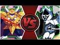 ASGORE vs CHAOS KING (Undertale vs Deltarune Animation) | Cartoon Fight Club Episode 296