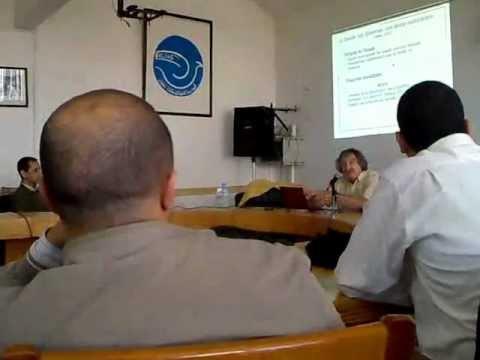 Conférence sur la communication médiatisée & E-learning Animé par Daniel Peraya (Day1-Part1)