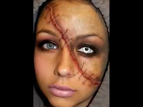 Halloween Series: Split Face Makeup Tutorial