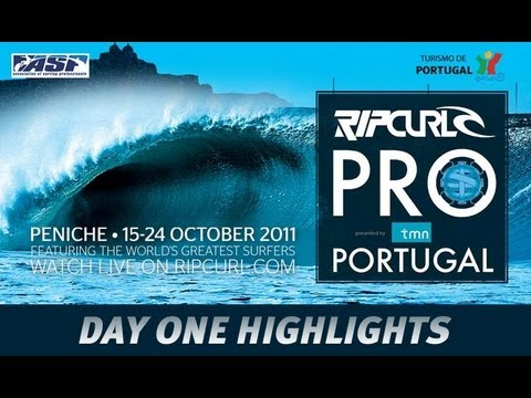 Day 1 Highlights - 2011 Rip Curl Pro Portugal
