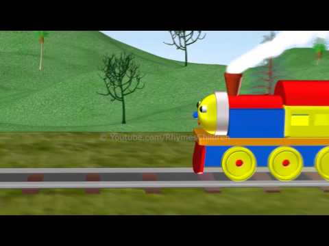 "Number Train - Learning Numbers for Kids ""RhymesChildren"""