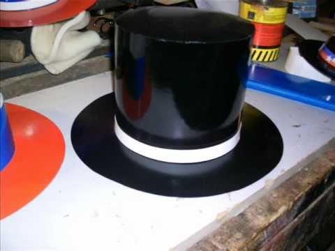 Moldes para sombrero de copa en foami - Imagui