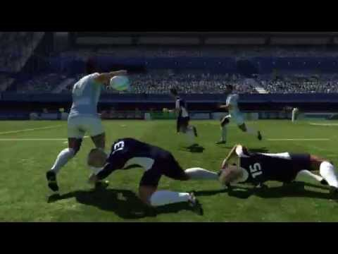 Rugby World Cup 2011  Official video game trailer - PS3 X360