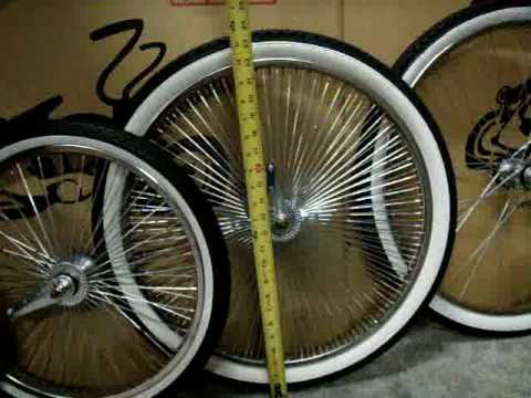 Bicycle Parts - wheel and tires size