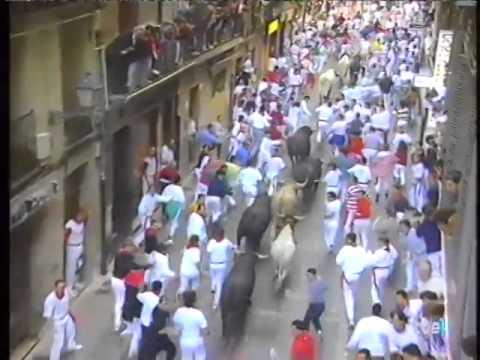 Encierro de San Fermín   9 de julio de 1998 480p