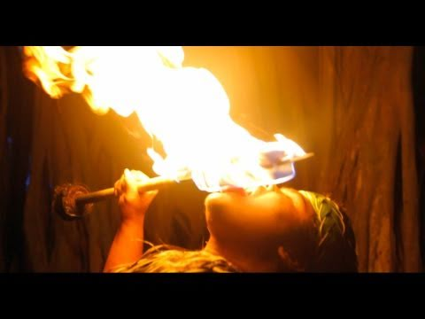 The Fire Knife Dance - Glidecam HD 4000