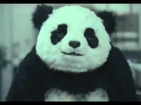 Panda Publicite pour le fromage