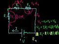 Фрагмент с конца видео - Resistors in series | Circuits | Physics | Khan Academy