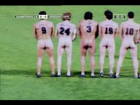 VIDEO: Commercial 3- Naked Football Players in Match.