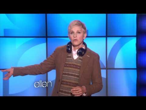 Ellen at Bill Clinton-s Party