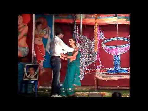 Andhra Ongole youth rocking on stage performance  GARJINCHINA SIMHALU GUMMALAM PADU  Part -1