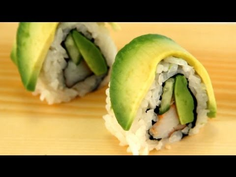 How To Make Sushi - Caterpillar Rolls