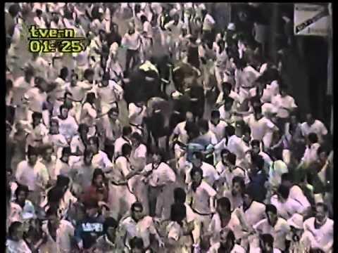Encierro de San Fermín   7 de julio de 1987 480p