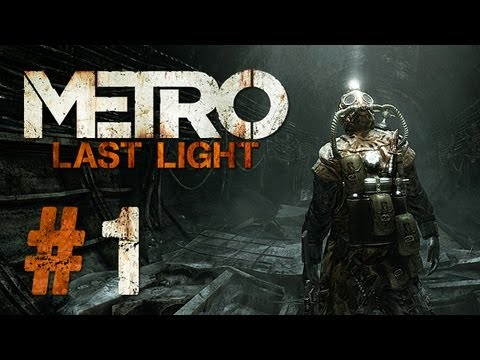 Metro Last Light Gameplay #1 - Let's Play Metro Last Light German
