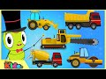 Learn Construction Vehicles with Surprise Eggs Toys | Videos for Children | Little Kids TV