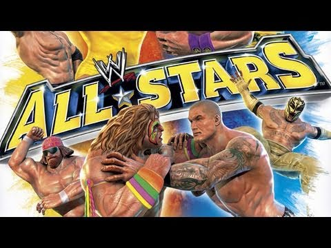 WWE: All Stars - Kane vs Andre the Giant Gameplay Commentary (HD 720p)