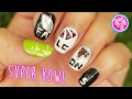 Atlanta Falcons SUPER BOWL NAIL ART