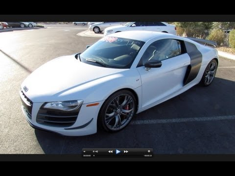 2012 Audi R8 GT 5.2 FSI Quattro Start Up, Exhaust, and In Depth Review